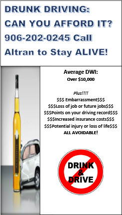 Call ALTRAN to Stay Alive